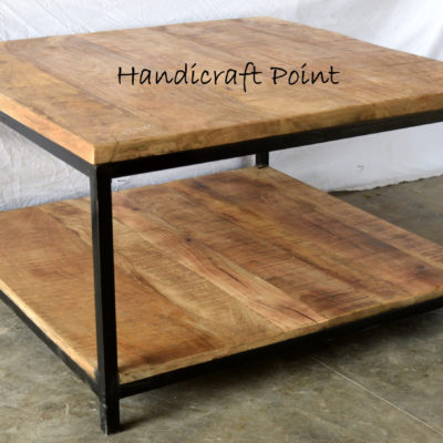 Iron 2 Top Square Table Small