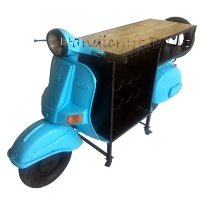 Vespa Scooter bar Counter