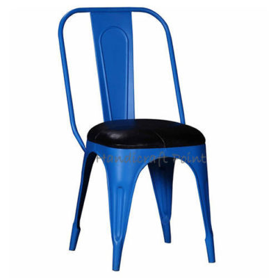 Iron Tolix Chair with Cushion seat