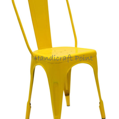 Iron Powder Coated Restaurant Chair