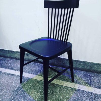 Iron Stick back chair