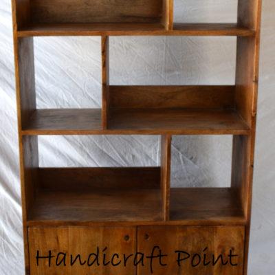 Iron Legs Wooden Bookshelf