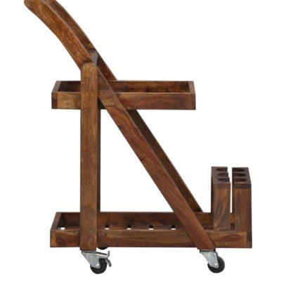 Wooden Bar Trolley