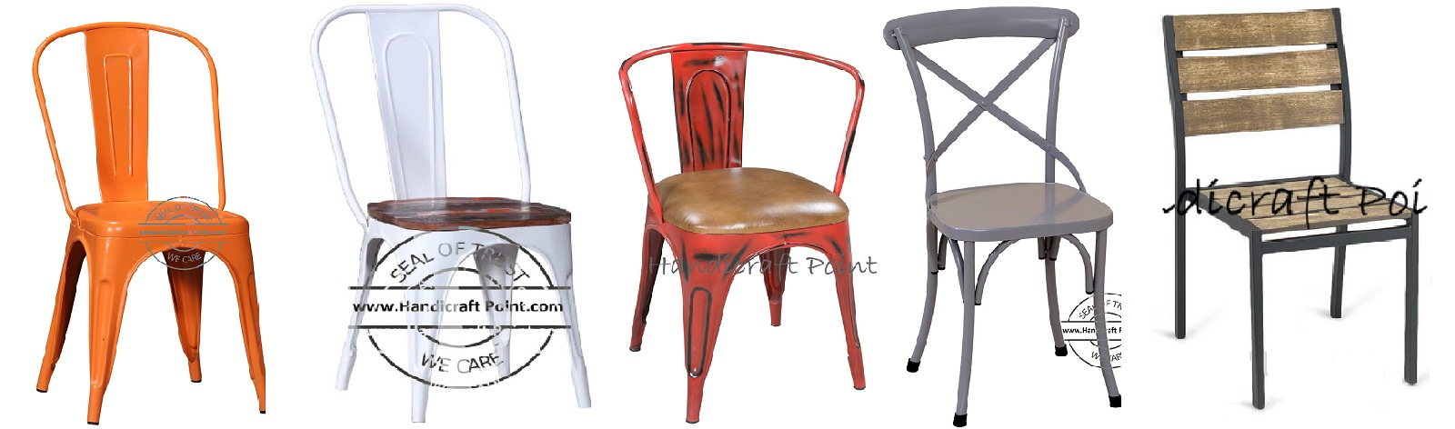 Industrial Restaurant Chairs