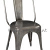 Metal Industrial Tolix Chair for Restaurant, Cafe and Home