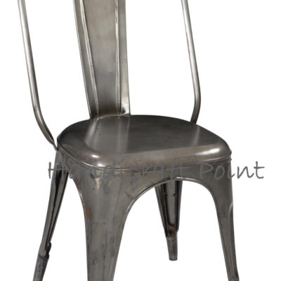 Metal Industrial Tolix Chair for Restaurant Cafe and Home