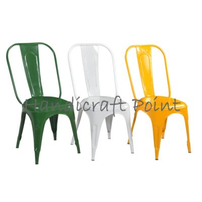 Industrial PowderCoated Tolix Chair