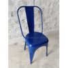 Industrial Cafe Tolix Chair Blue