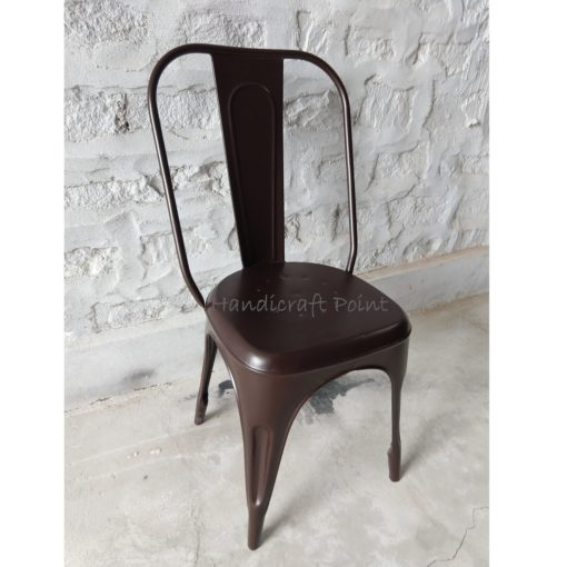 Industrial Restaurant Tolix Chair Brown