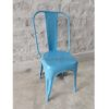 Industrial Restaurant Tolix Chair Skyblue