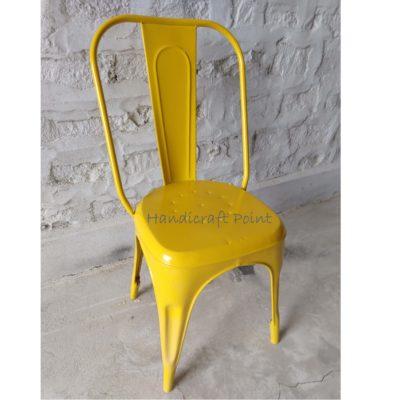 Industrial Restaurant Tolix Chair Yellow