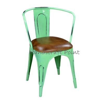 Industrial Vintage Armrest Cafe chair