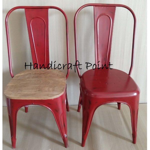 Rustic Restaurant Chair
