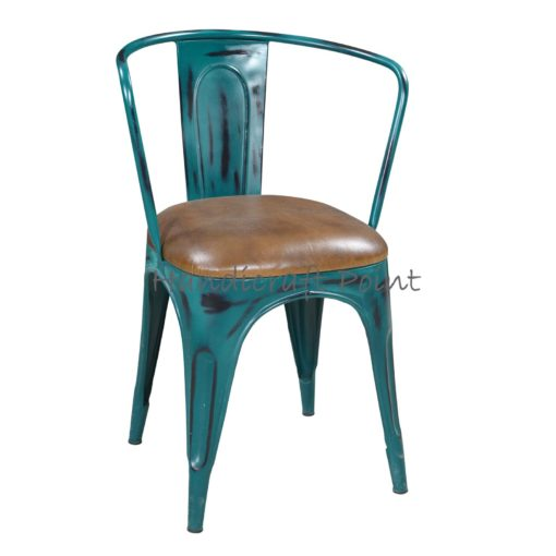 Vintage Industrial Antique Reclaimed Dining Chair
